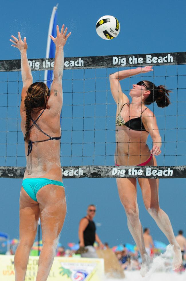 Siesta Key Beach Volleyball